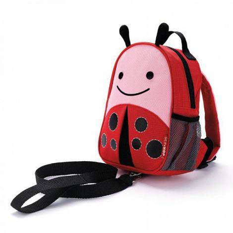 Skip Hop Zoo Ladybug Mini Backpack with Safety Harness