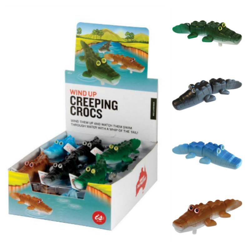 IS Wind Up Creeping Crocs